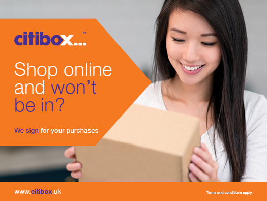Citibox - Shop Online and won't be in?